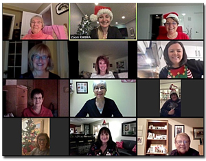 Kitchener Waterloo Business Women Association - Christmas ZOOM Party
